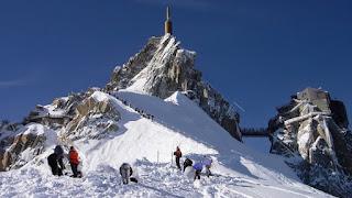 Da Chamonix alla vetta del Monte Bianco