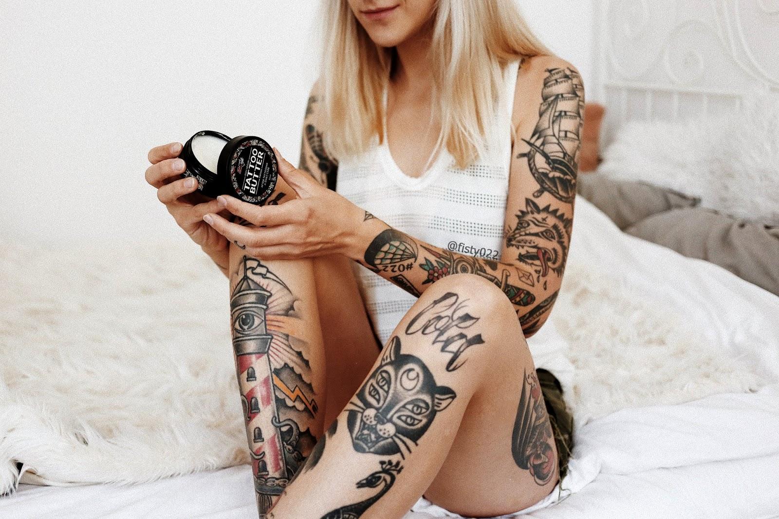 Love Ink Jak Dbać O Tatuaże Fisty