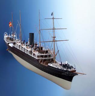 Maqueta vapor Alfonso XIII