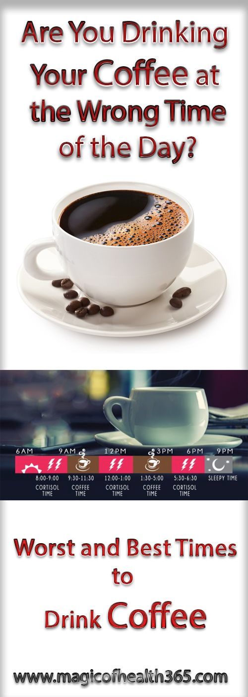 ARE YOU DRINKING YOUR COFFEE AT THE WRONG TIME OF THE DAY? (WORST AND BEST TIMES TO DRINK COFFEE)