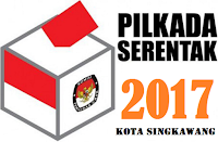 Pilwalkot Singkawang 2017