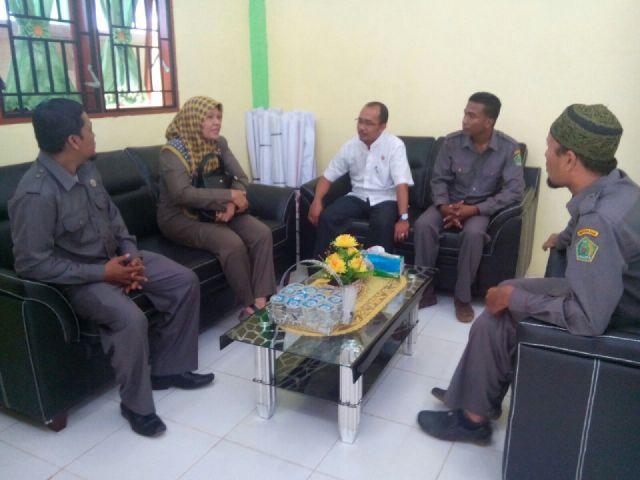 Kunjungan Balitbang ke MAN Insan Cendekia Aceh Timur