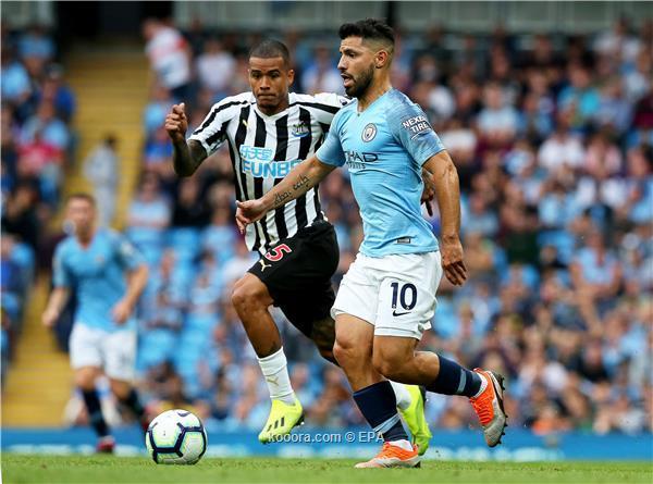 مباراة مانشستر سيتي ونيوكاسل يونايتد 29-1-2019 الدوري الانجليزي