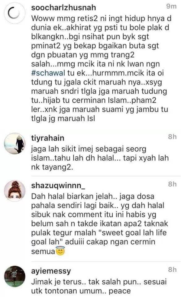Foto Che Ta, Zain Saidin Bercumbu Di Instagram Timbulkan Kekecohan