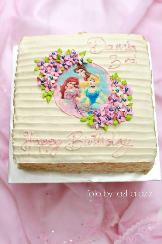 Birthday Kek Kanak Kanak Masam Manis