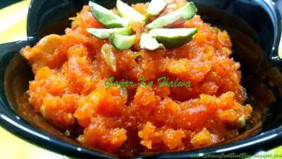 How to make gajar ka halwa recipe