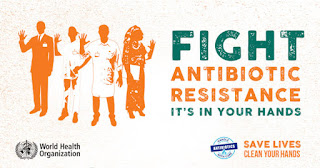 Fight antimicrobial resistance with proper hand hygiene