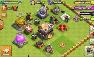 Clash of Clans Mod Apk Update Terbaru (TH 11) FHx v8.709.16