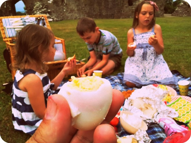 , An Enchanted Enid Blyton Style Picnic at Llawhaden Castle #cbias #shop