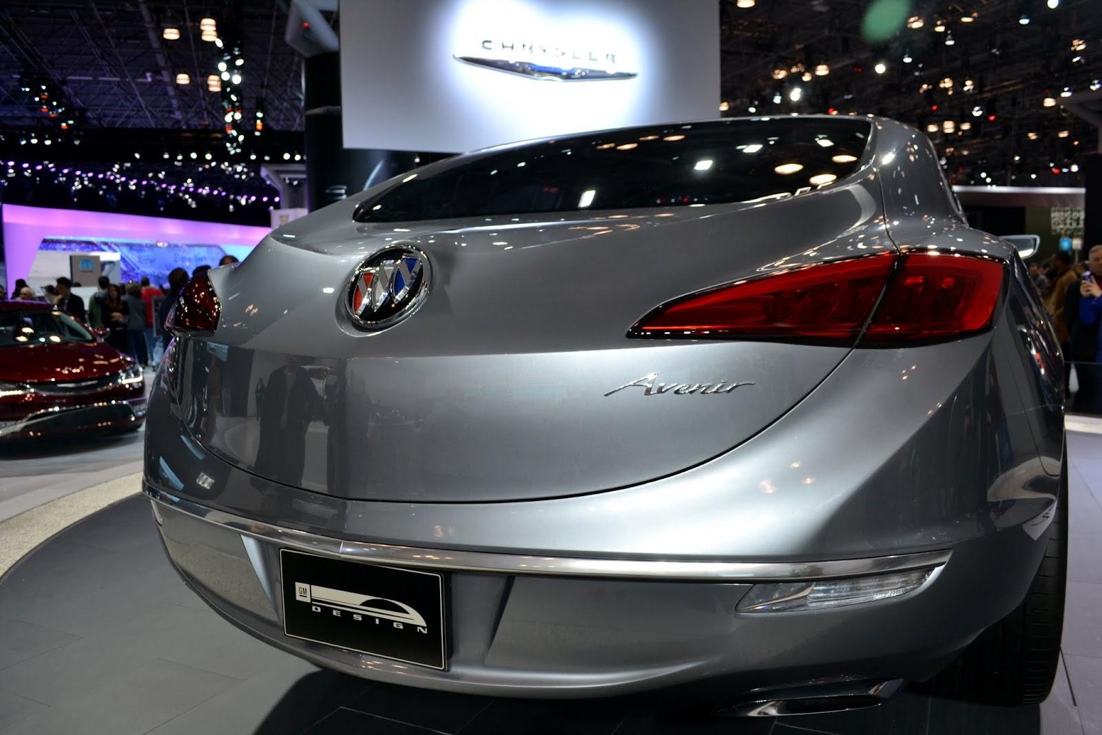 Buick Avenir (концепт). Ежегодное автошоу в Нью-Йорке - 2015 (New York International Auto Show - 2015)