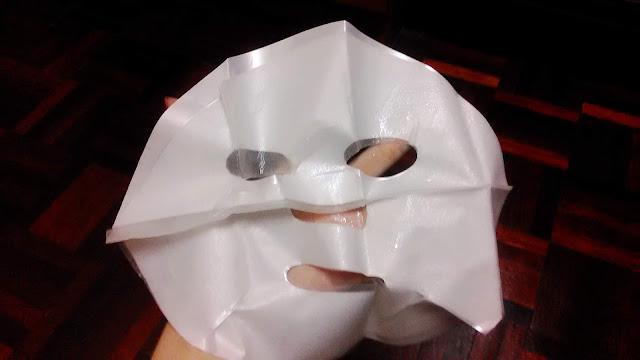 Review; B.liv's Immerse Me Utmost Moisture Original Japan Silk Mask