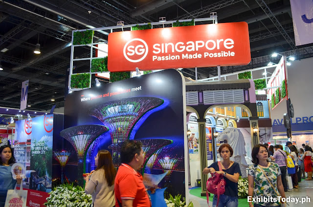 Singapore Tradeshow Display