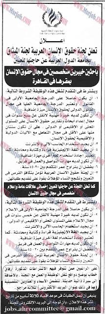لجنة حقوق الانسان العربية - جامعة الدول العربية
