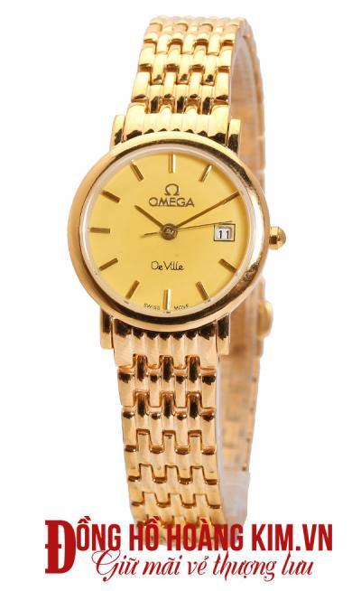 Đồng hồ omega nữ dây sắt uy tín
