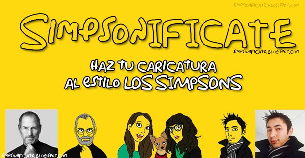 Simpsonifícate Haz Tu Caricatura Al Estilo Los Simpsons
