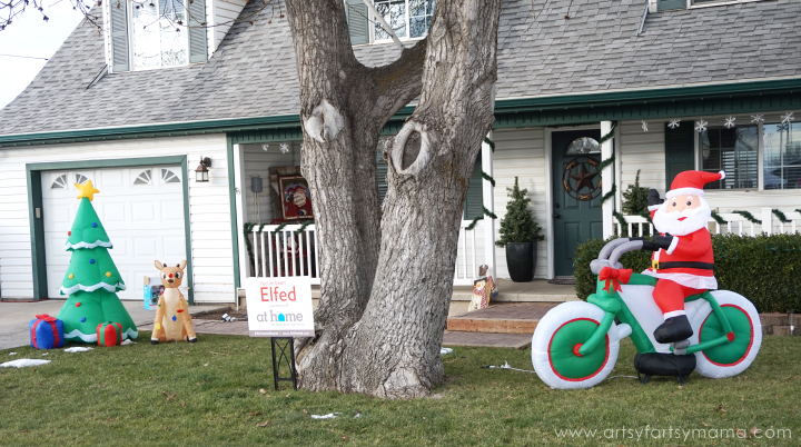 """Elf the Yard"" with At Home Stores #MyReason #AtHomeStores"
