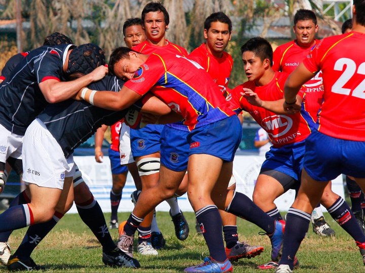 PHILIPPINE NATIONAL RUGBY TEAM FUN PHOTOS