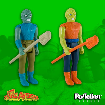 The Toxic Avenger ReAction Retro Action Figures by Super7