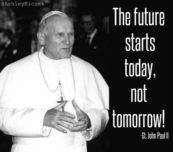 Saint Of The Day St John Paul Ii