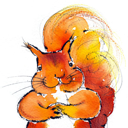 Sammy squirrel and his friends. By Jill Latter, Illustrator