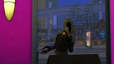 sims 4 grim reaper singing karaoke