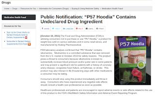 P57 Hoodia®, riscos e alertas