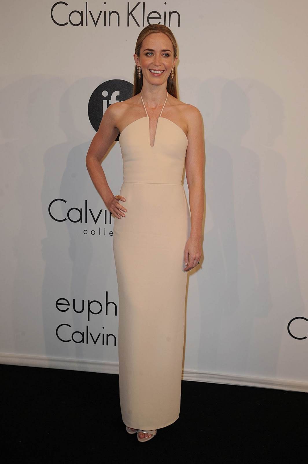 HQ Photos of Emily Blunt Calvin Klein Party In Cannes