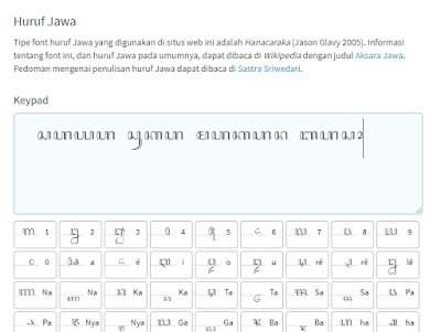 Translate Jawa Ke Karakter Jawa Hanacaraka Atau Sebaliknya Secara Online Blog Ruangguru