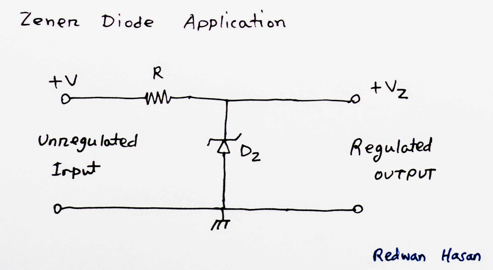 Scavenger S Blog Zener Diode And Linear Voltage Regulation