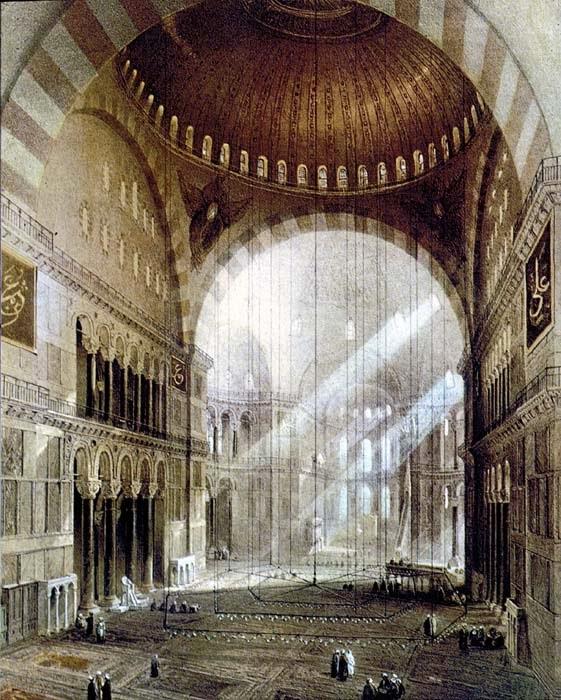 Iglesia De Santa Sofia De Constantinopla Planta Y Alzado Name
