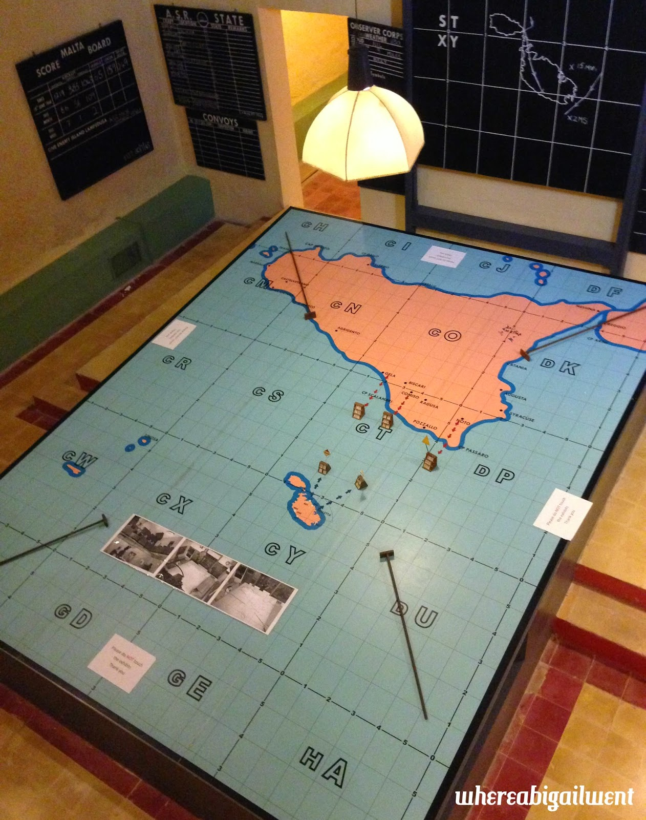 Lascaris War Rooms Valletta Malta