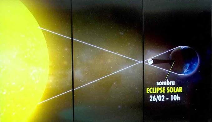 Primeiro eclipse solar de 2017 acontece neste domingo