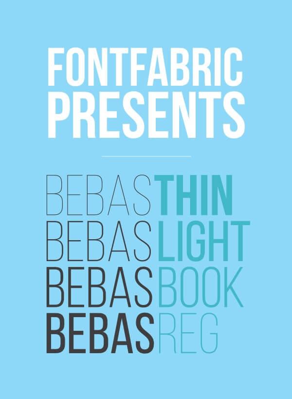 Download Gratis Sans Serif Komersial Font - Bebas Neue