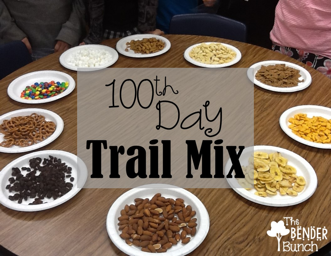 The Bender Bunch 100th Day Trail Mix Amp Freebies