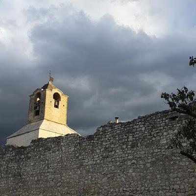 Provence Orage Pensée positive lumière au bout du tunnel