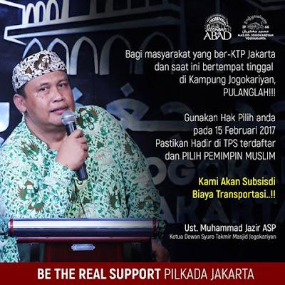 Allahu Akbar! Seruan Ini Gerakkan Umat Islam di Jogokariyan ke Jakarta