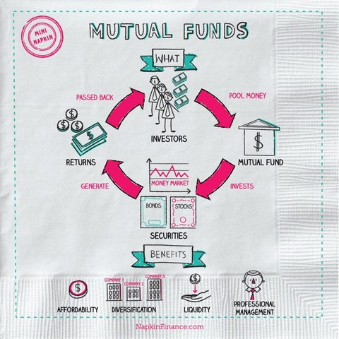 mutual fund investment infographic
