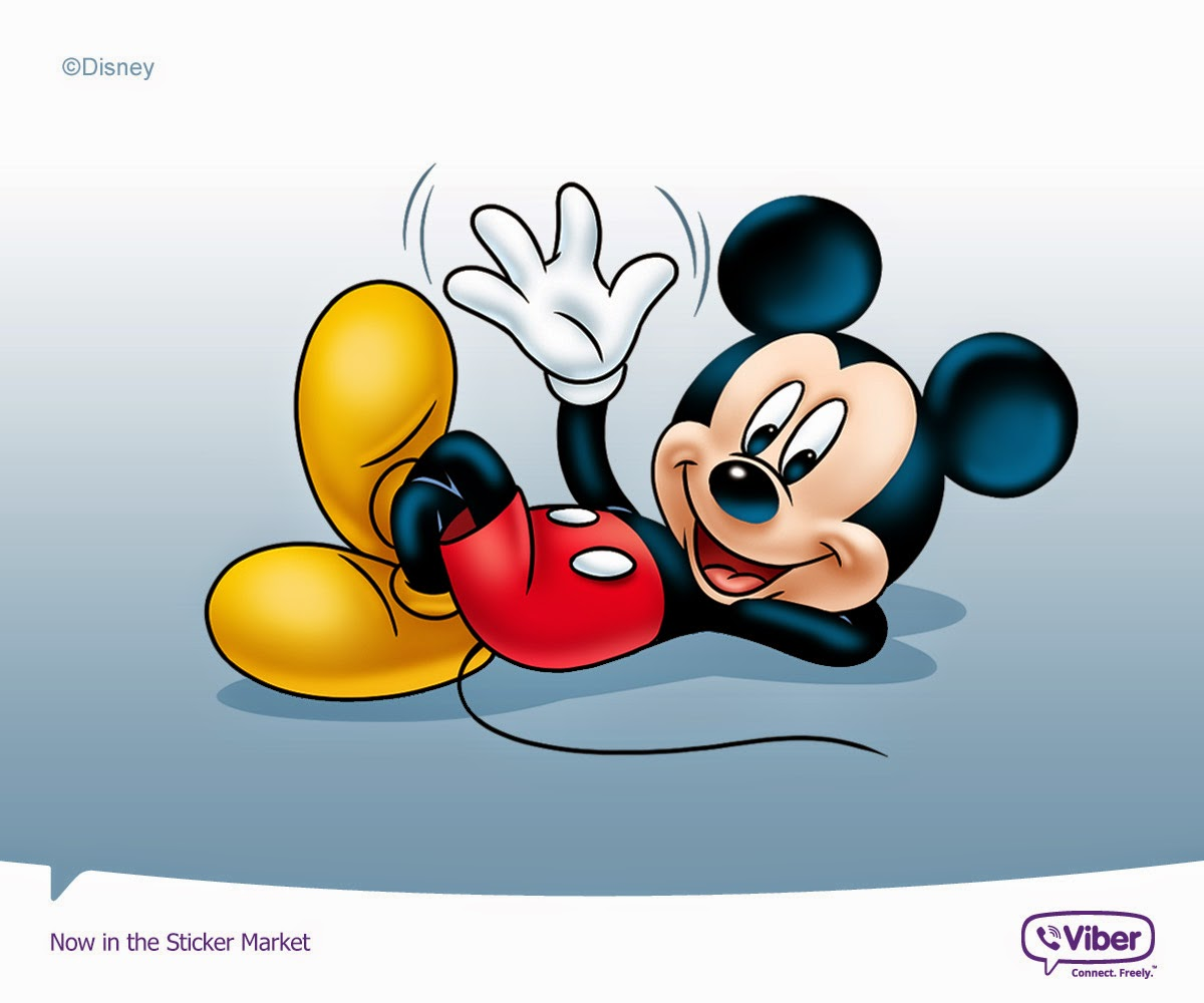 Viber Disney sticker Pack