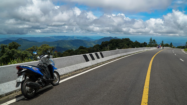Did the Mae Hong Son loop on motorcycle