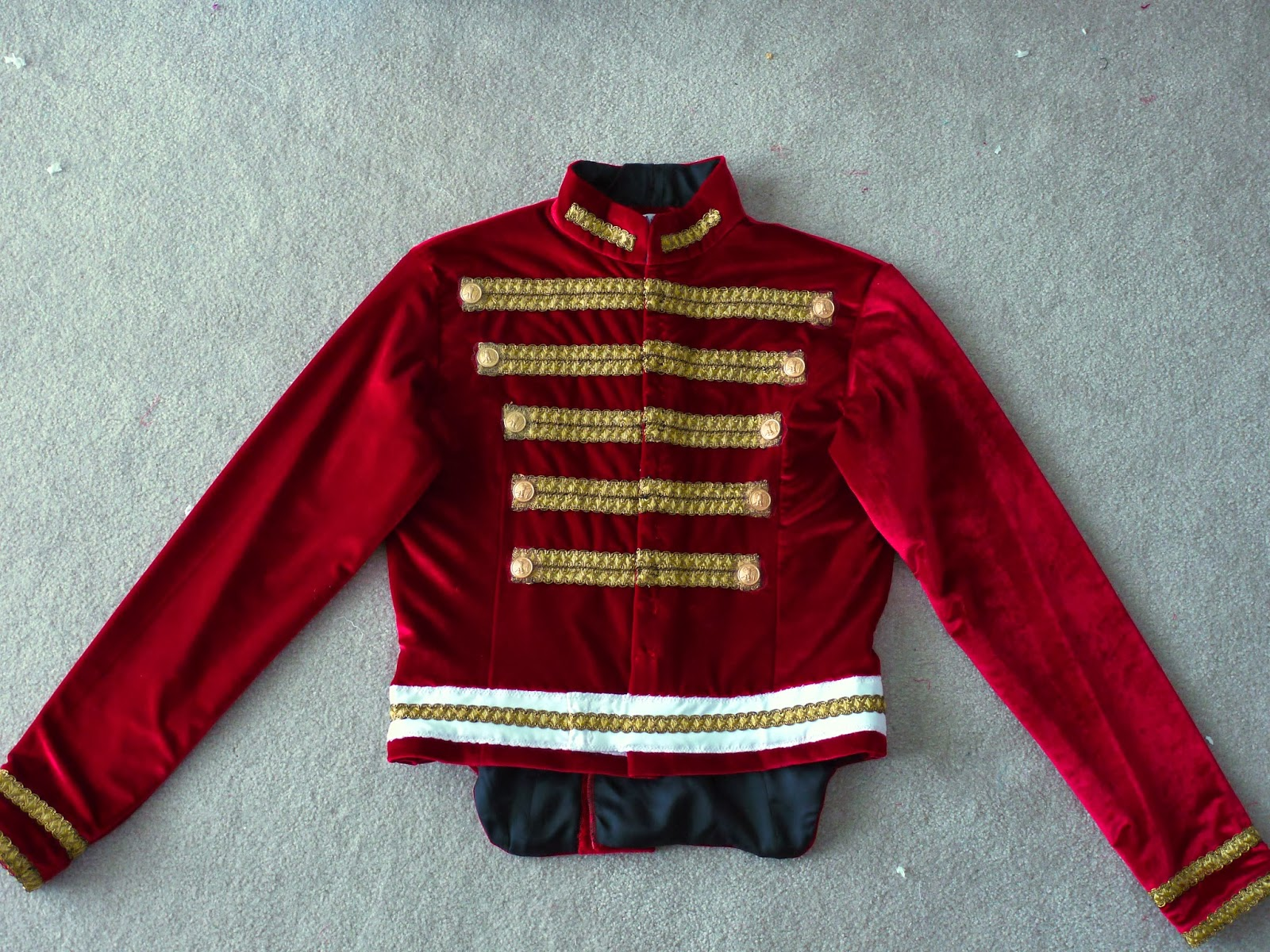 Nutcracker Cavalier Doublet Jacket