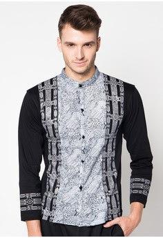 Baju batik pria muslim
