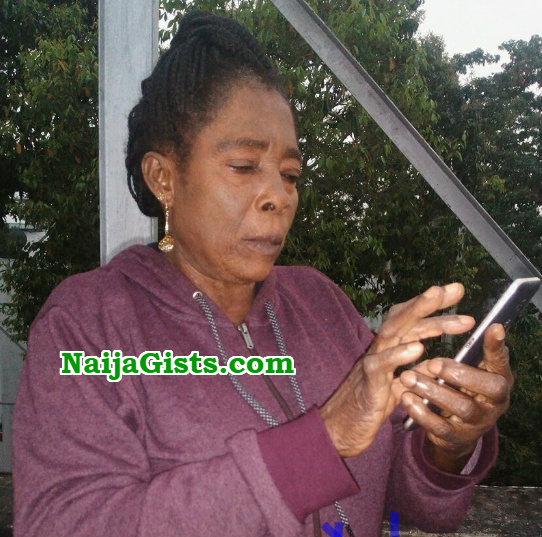 iyabo oko returns uk medical checkup