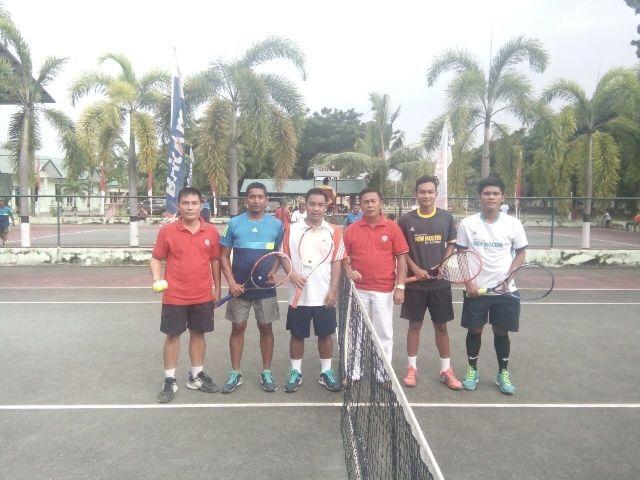 PLTI Banda Aceh Raih Juara I Tennis Lapangan HUT Kodam IM