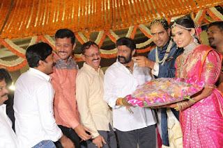 director krish wedding photos