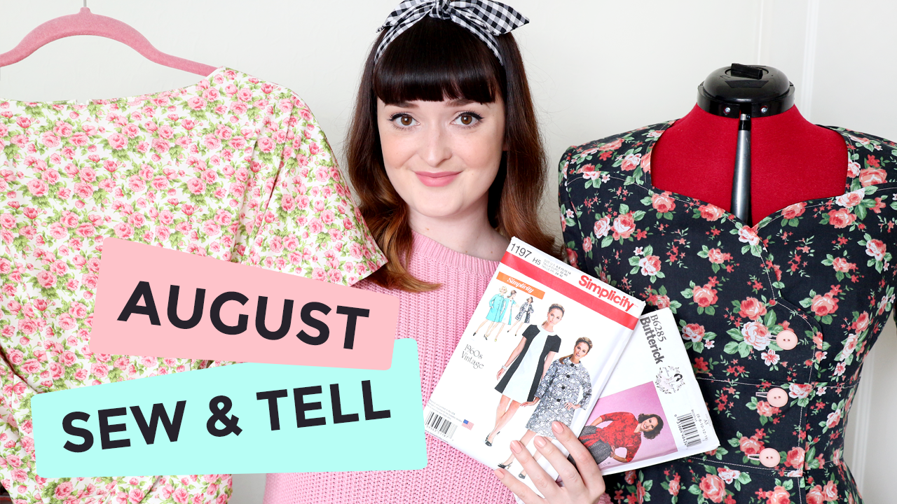 August Sew & Tell + September Sewing Plans!
