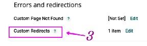 Blog post me custom redirect kaise set kare puri jankari step by step