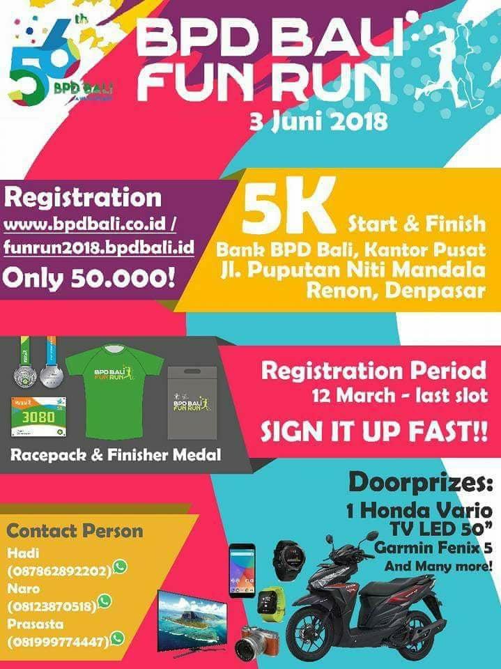 BPD Bali Fun Run • 2018