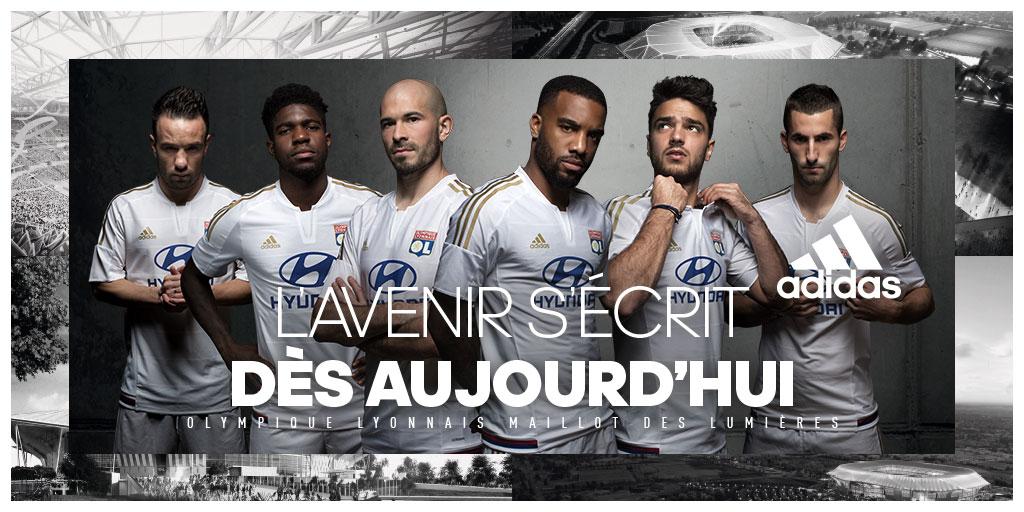 Discount Adidas Olympique Lyonnais 2016 Third Kit Released 33cb79399
