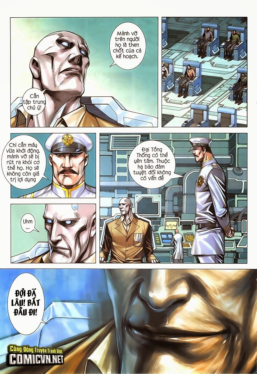 Đại Quân Phiệt chap 47: lời hứa trước khi thế giới chung kết trang 14
