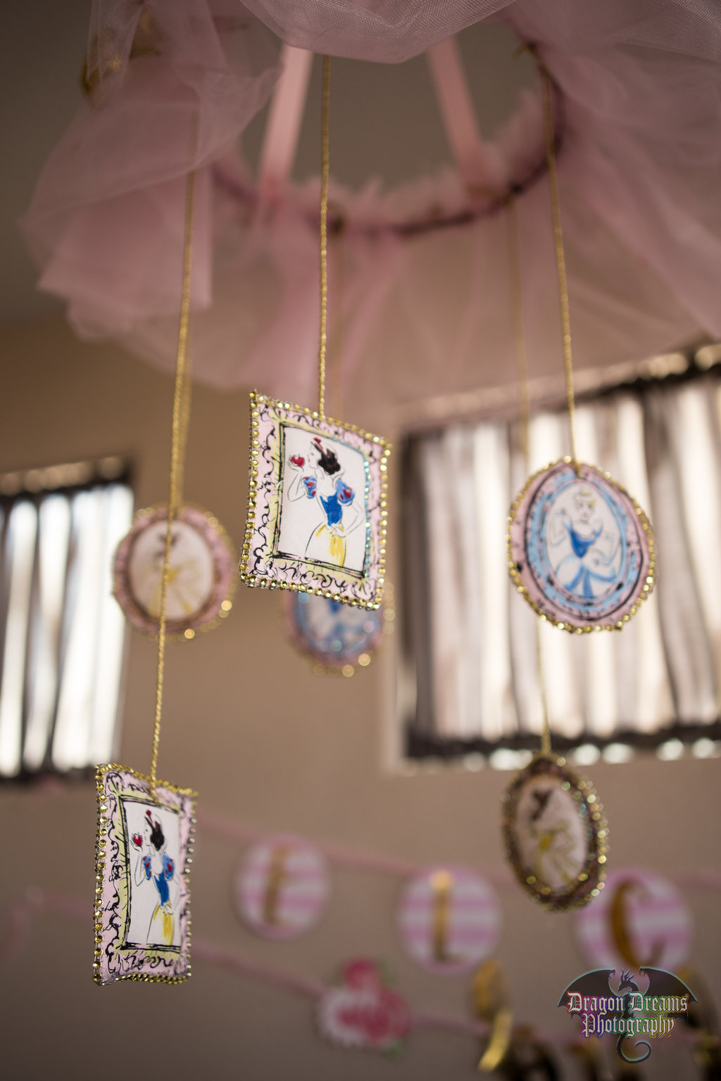 Pink And Gold Roses Baby Shower Featuring Several Las Vegas Local